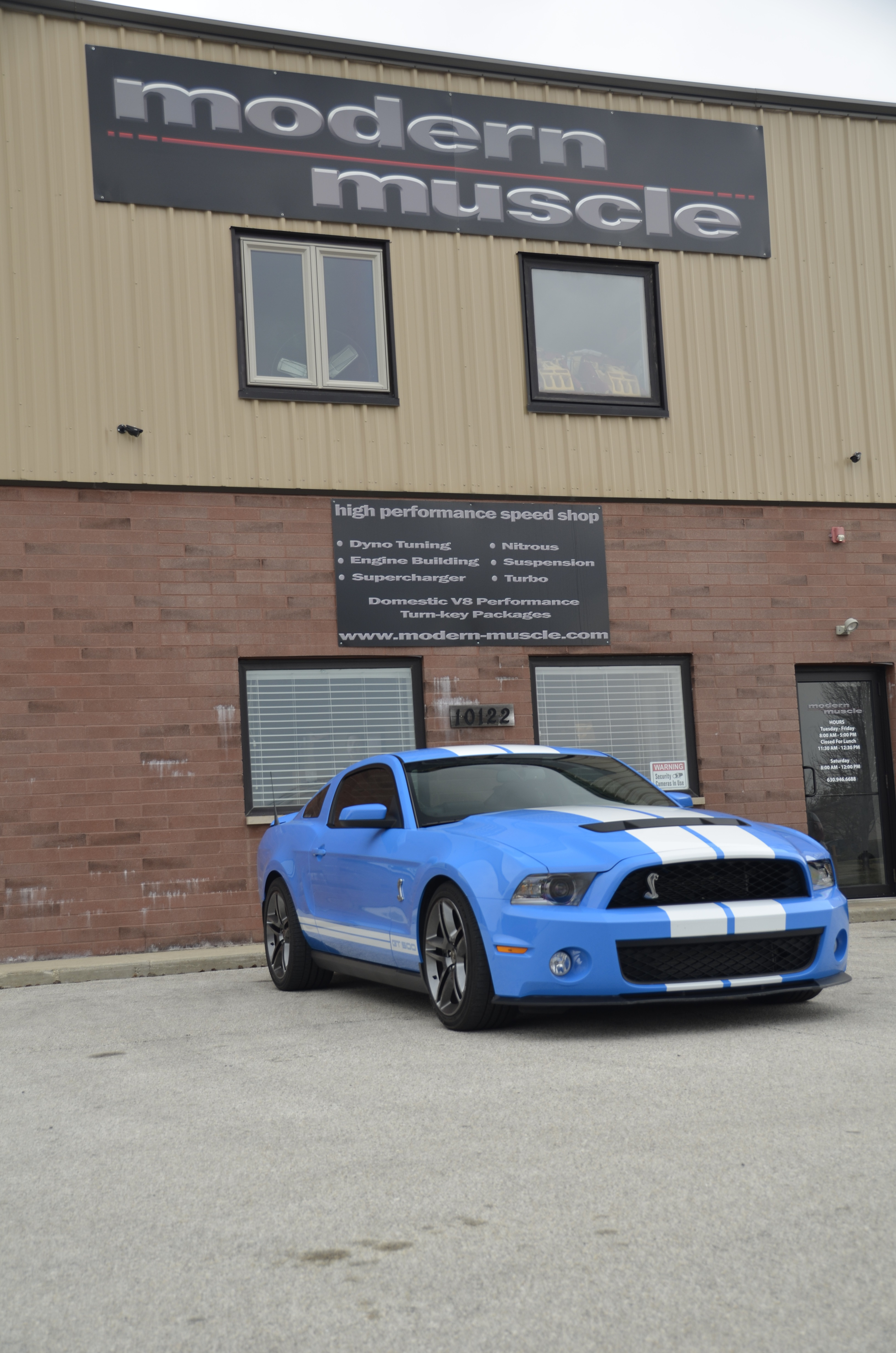 High Performance Gallery | Modern Muscle